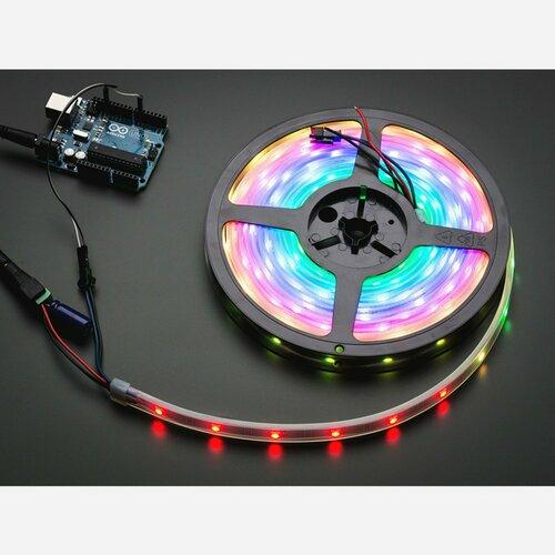 Adafruit NeoPixel Digital RGB LED Strip - Black 30 LED [BLACK] 5 meters