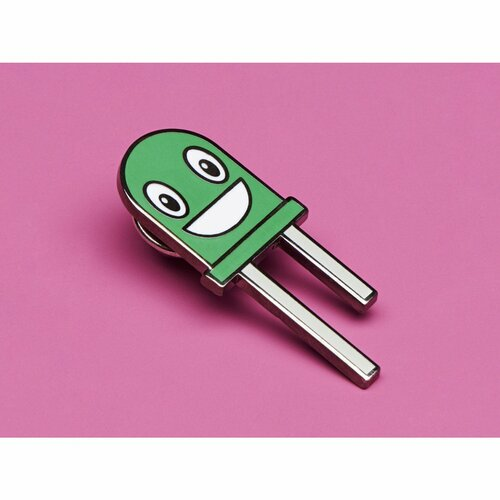 Gus the Green LED Limited Edition Enamel Pin