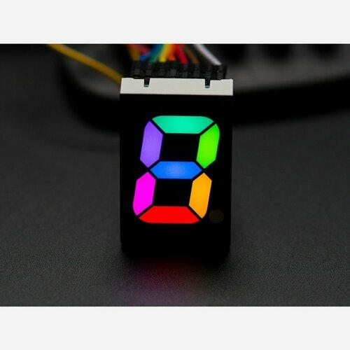 RGB 7-Segment Digit - 1 Tall Digit