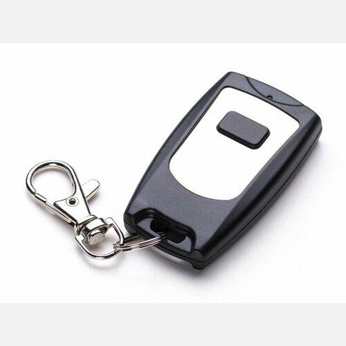 Keyfob Single Button RF Remote Control - 315MHz