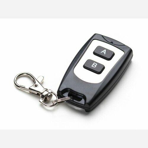 Keyfob 2-Button RF Remote Control - 315MHz