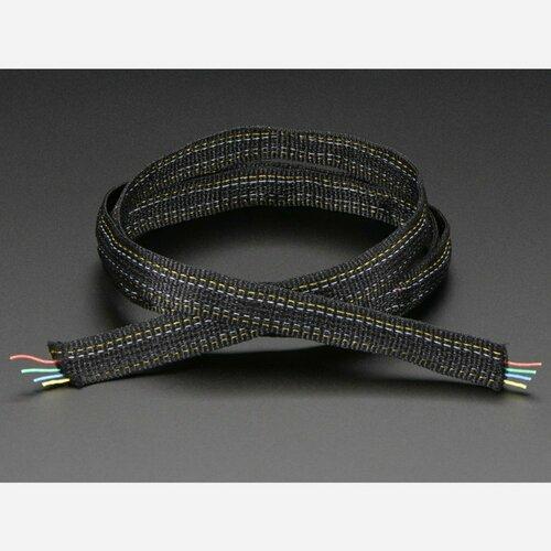Fabric Ribbon 4-Channel Wire - 1 yard
