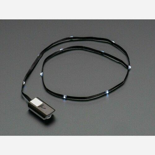 Litex White LEDs on Black Fabric Ribbon Pack