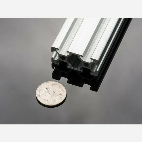 Slotted Aluminum Extrusion - 20mm x 40mm - 610mm long