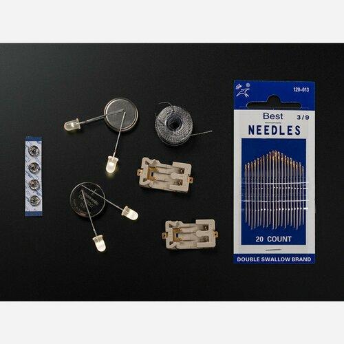 Adafruit Beginner LED Sewing Kit