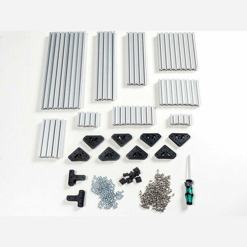 OpenBeam Advanced Precut Kit - Silver Aluminum