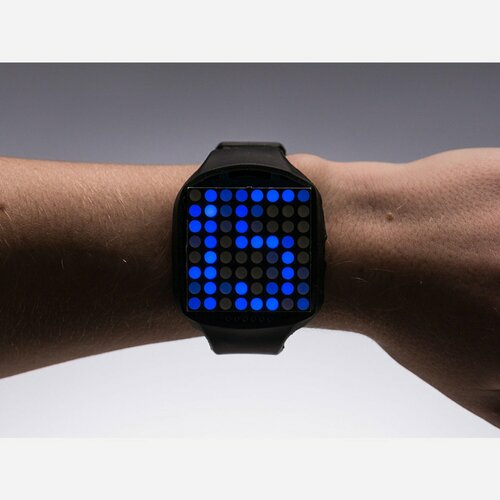 TIMESQUARE DIY Watch Kit - Blue Display Matrix