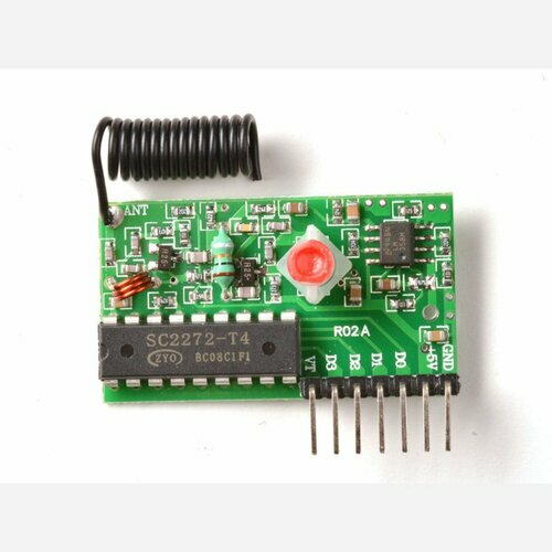 Simple RF M4 Receiver - 315MHz Momentary Type