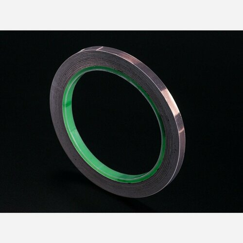 Copper Foil Tape with Conductive Adhesive - 6mm x 15 meter roll
