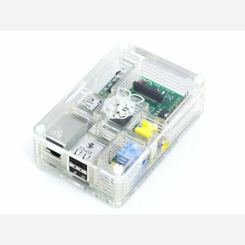 Crystal Pibow - Enclosure for Raspberry Pi Model B Computers