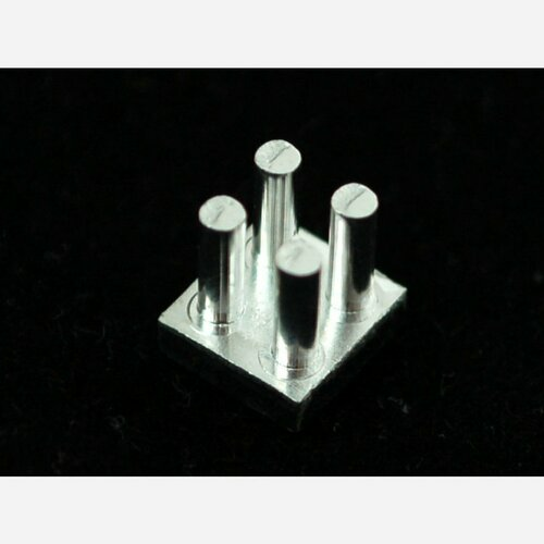 Aluminum SMT Heat Sink - 0.27x0.27 square