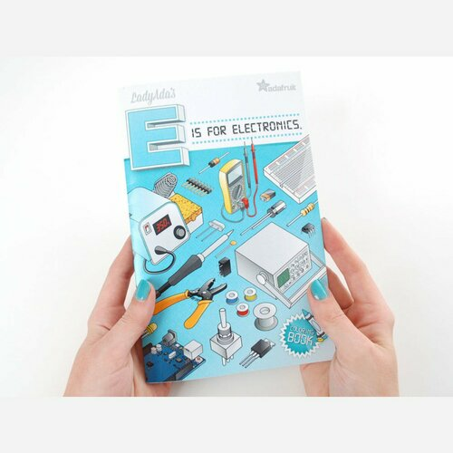 Coloring book - Ladyada's E is for electronics