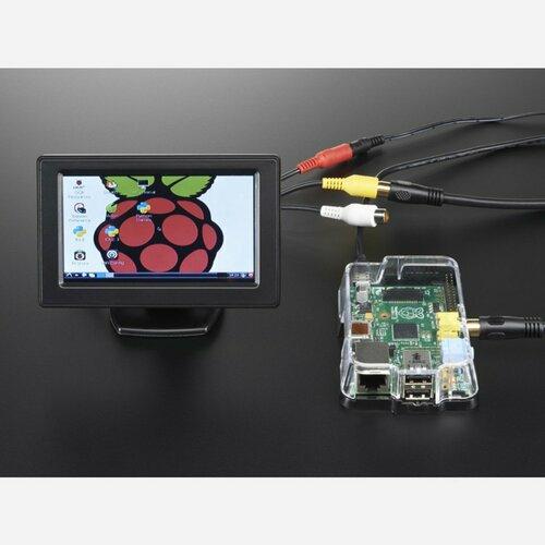 NTSC/PAL (Television) TFT Display - 4.3 Diagonal