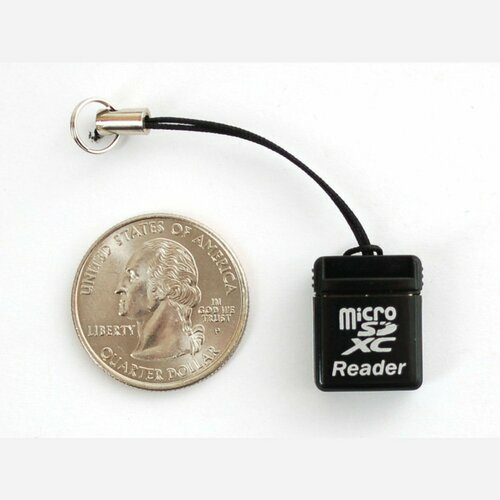 USB MicroSD Card Reader/Writer - microSD / microSDHC / microSDXC