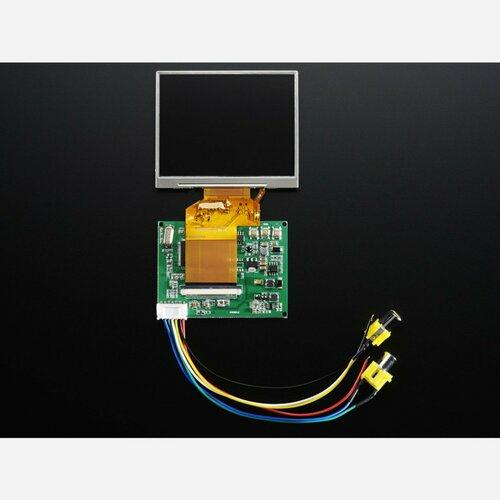 NTSC/PAL (Television) TFT Display - 3.5 Diagonal