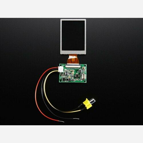 NTSC/PAL (Television) TFT Display - 2.5 Diagonal
