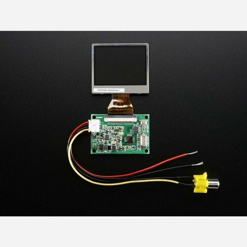 NTSC/PAL (Television) TFT Display - 2.0 Diagonal