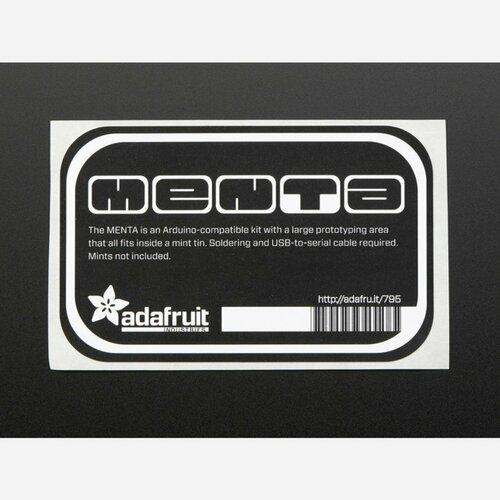 MENTA - Sticker for mint tin