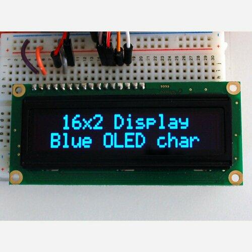 Blue Character OLED 16x2