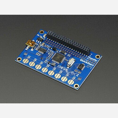 Parallax Propeller Quickstart USB Development Board
