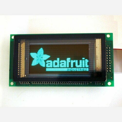 128x64 Graphic VFD (Vacuum Fluorescent Display) - SPI interface