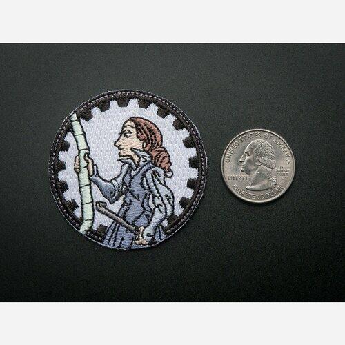 Ada Lovelace - Skill badge, iron-on patch