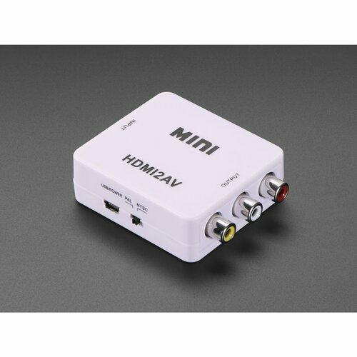 HDMI to RCA Audio and NTSC or PAL Video Adapter
