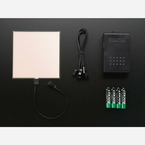 Electroluminescent (EL) Panel Starter Pack - 10cm x 10cm