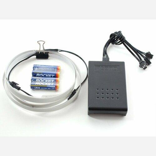 Electroluminescent (EL) Tape/Strip Starter Pack - 100cm