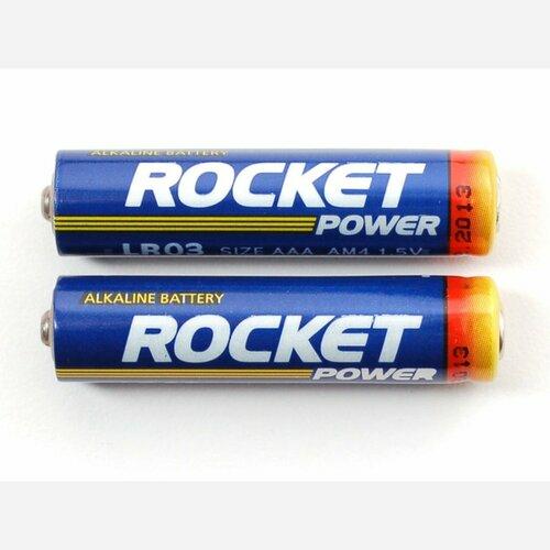 Alkaline AAA batteries - 2 pack