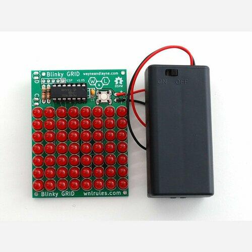 Blinky Grid - Programmable LED matrix kit [v1.05]