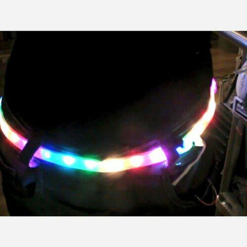 Digital programmable LED belt kit