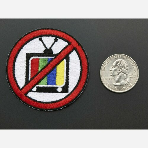 TV-B-Gone, Skill badge, iron-on patch