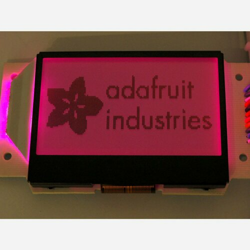 Graphic ST7565 Positive LCD (128x64) with RGB backlight + extras [ST7565]