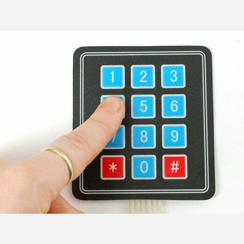 Membrane 3x4 Matrix Keypad + extras [3x4]