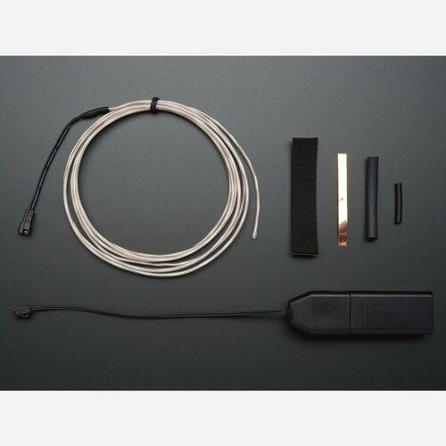 EL wire starter pack - 2.5 meter (8.2 ft)