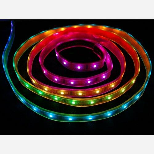 Digital RGB LED Weatherproof Strip - LPD8806 32 LED
