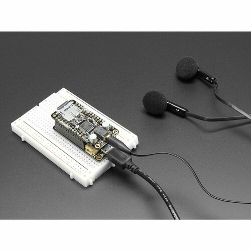 Adafruit Music Maker FeatherWing - MP3 OGG WAV MIDI Synth Player