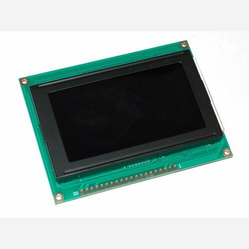 MONOCHRON KS0108 Graphic LCD [white on black]