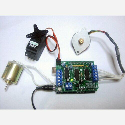 Adafruit Motor/Stepper/Servo Shield for Arduino kit [v1.2]