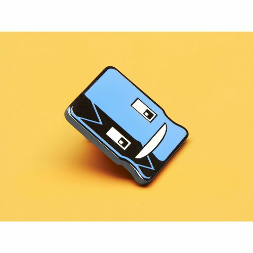 Cappy the Capacitor Limited Edition Enamel Pin