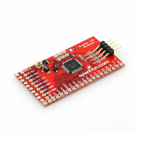 SparkFun Graphic LCD Serial Backpack