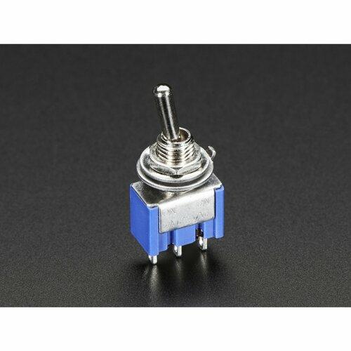 Mini Panel Mount SPDT Toggle Switch