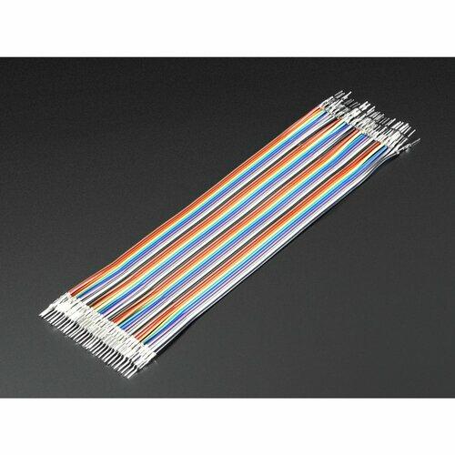 Premium Male/Male Raw Jumper Wires - 40 x 6 (150mm)