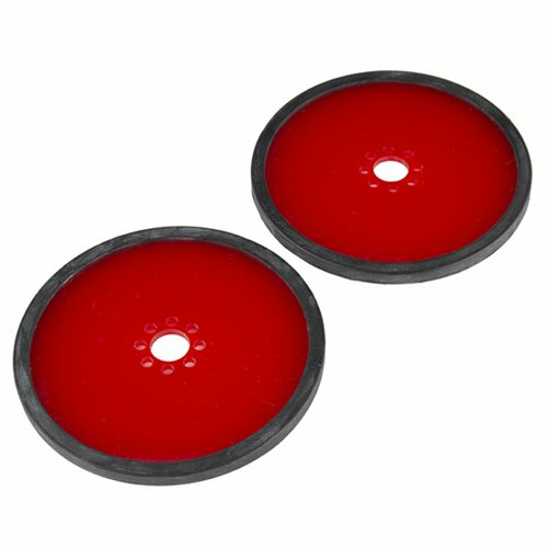 Precision Disc Wheel - 4 (Red, 2 Pack)