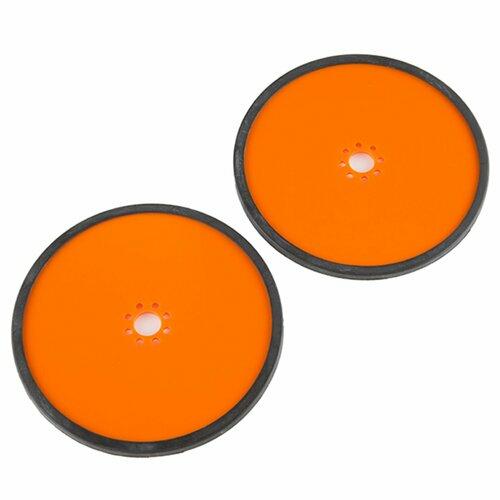 Precision Disc Wheel - 5 (Orange, 2 Pack)