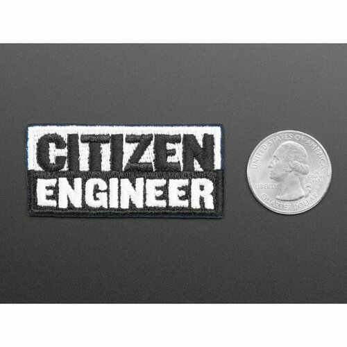 Citizen Engineer - Skill badge, iron-on patch