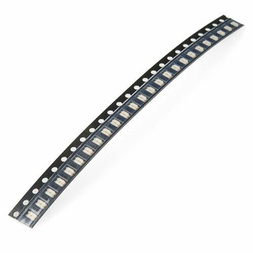 SMD LED - White 1206 (strip of 25)