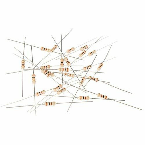 Resistor 100 Ohm 1/4th Watt PTH - 20 pack