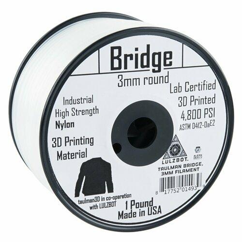 Bridge Filament 3mm - 0.45kg (Clear)